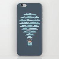 Weather Balloon iPhone & iPod Skin