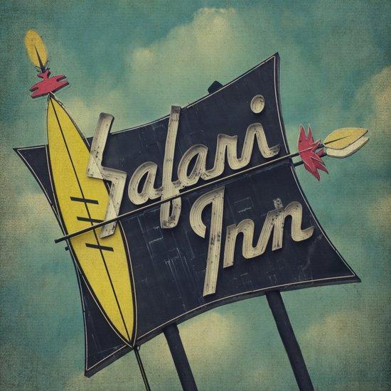 Safari Inn, Burbank, CA.  Art Print