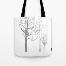 Quilted Forest II Tote Bag