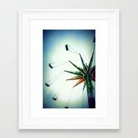 Frequent Flyer Framed Art Print