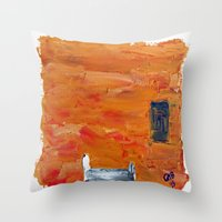 The Bed I Throw Pillow
