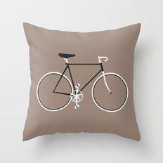 Single Speed Throw Pillow