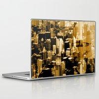 chicago Laptop & iPad Skins featuring Chicago by DM Davis