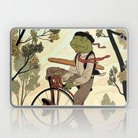 Morning Ride Laptop & iPad Skin