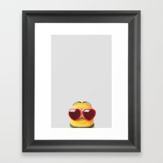 LOVE MINION Framed Art Print