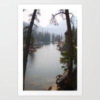 saddleback lake Art Print