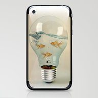 iPhone & iPod Skin featuring Ideas And Goldfish 03 by Vin Zzep