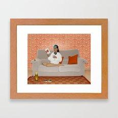 Holly, Breakfast at Tiffany's Framed Art Print
