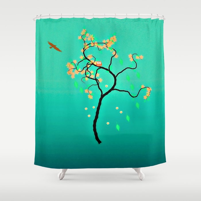 Whimsical Tree Series Shower Curtain By Laura Santeler Society6