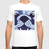 Bluedog Mens Fitted Tee White SMALL