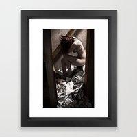 Frustration of Creation Framed Art Print
