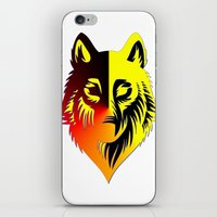 The Solar Wolf iPhone & iPod Skin