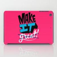 Make It iPad Case