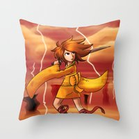 Jupiter Princess Throw Pillow