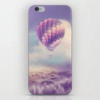 BALLOON FLIGHT iPhone & iPod Skin