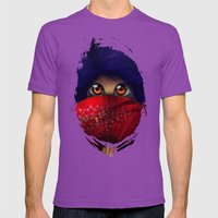 Hiding.  Mens Fitted Tee Ultraviolet SMALL