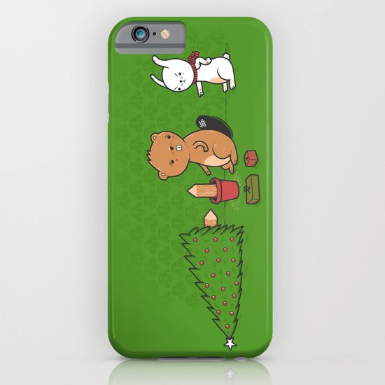 Beavers ruin Christmas iPhone & iPod Case
