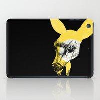 Fawn in Headlight iPad Case