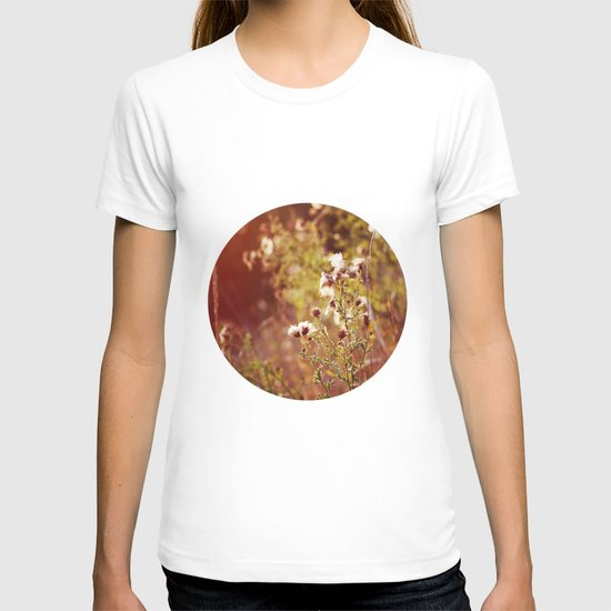 golden dandelions. T-shirt