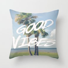 Good Vibe Tribe Throw Pillow