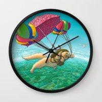 PARACHUTE Wall Clock
