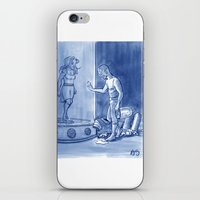 Victor and Nora, Mr. Freeze's Heart of Ice iPhone & iPod Skin