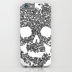 Panda is cool/skull iPhone 6 Slim Case