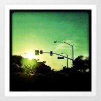 Green. Art Print