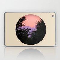 Clouds As Mountains Circular Laptop & iPad Skin