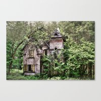 Haunted Mansion Canvas Print