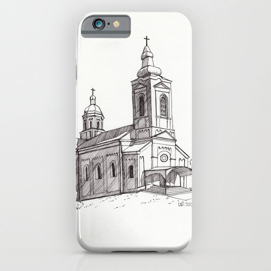 Village Church iPhone & iPod Case