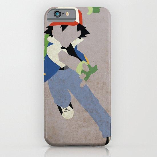Ash Ketchum iPhone & iPod Case