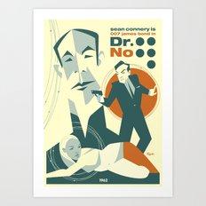 Dr. No Art Print