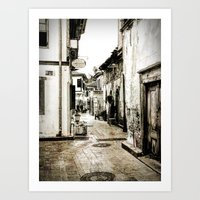 Antalya Street Turkey Art Print