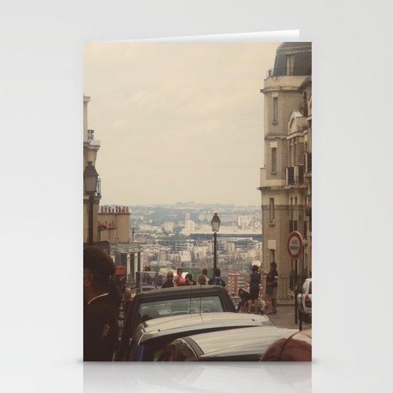 Paris Street Stationery Card