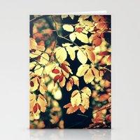Autumnally  Stationery Cards
