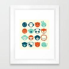 Menagerie Framed Art Print