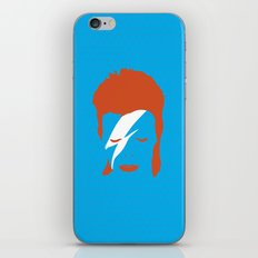 Ziggy Stardust - Blue iPhone & iPod Skin