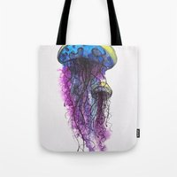 Sketchy Jellyfish Tote Bag