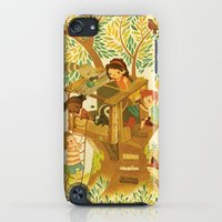 iPod Touch Cases featuring Our House In the Woods by Teagan White
