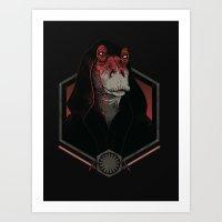 Darth Darth Binks Art Print