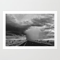 Storm 2 Art Print