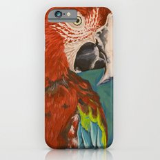 Green-winged Macaw iPhone 6 Slim Case