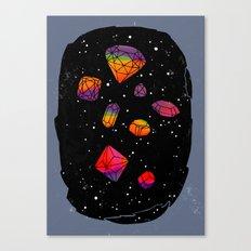 DIAMONDS IN THE SKY Canvas Print