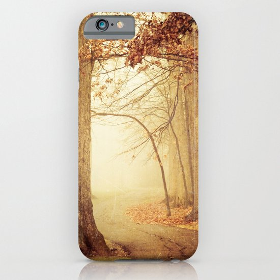 I Heard Whispering in the Woods iPhone & iPod Case