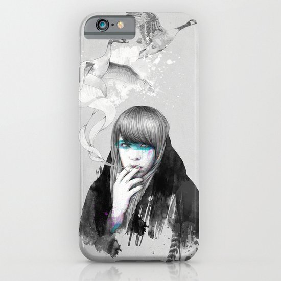 Swan Love iPhone & iPod Case