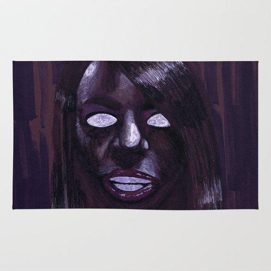 """Angelic Haze"" by Cap Blackard Area & Throw Rug"