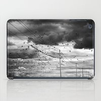 Moody Birds iPad Case