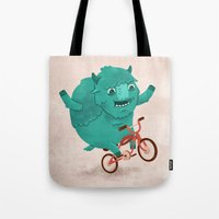 Bicycle Buffalo Tote Bag