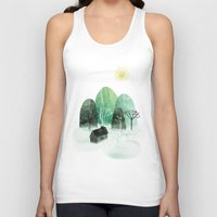 Mountains Unisex Tank Top